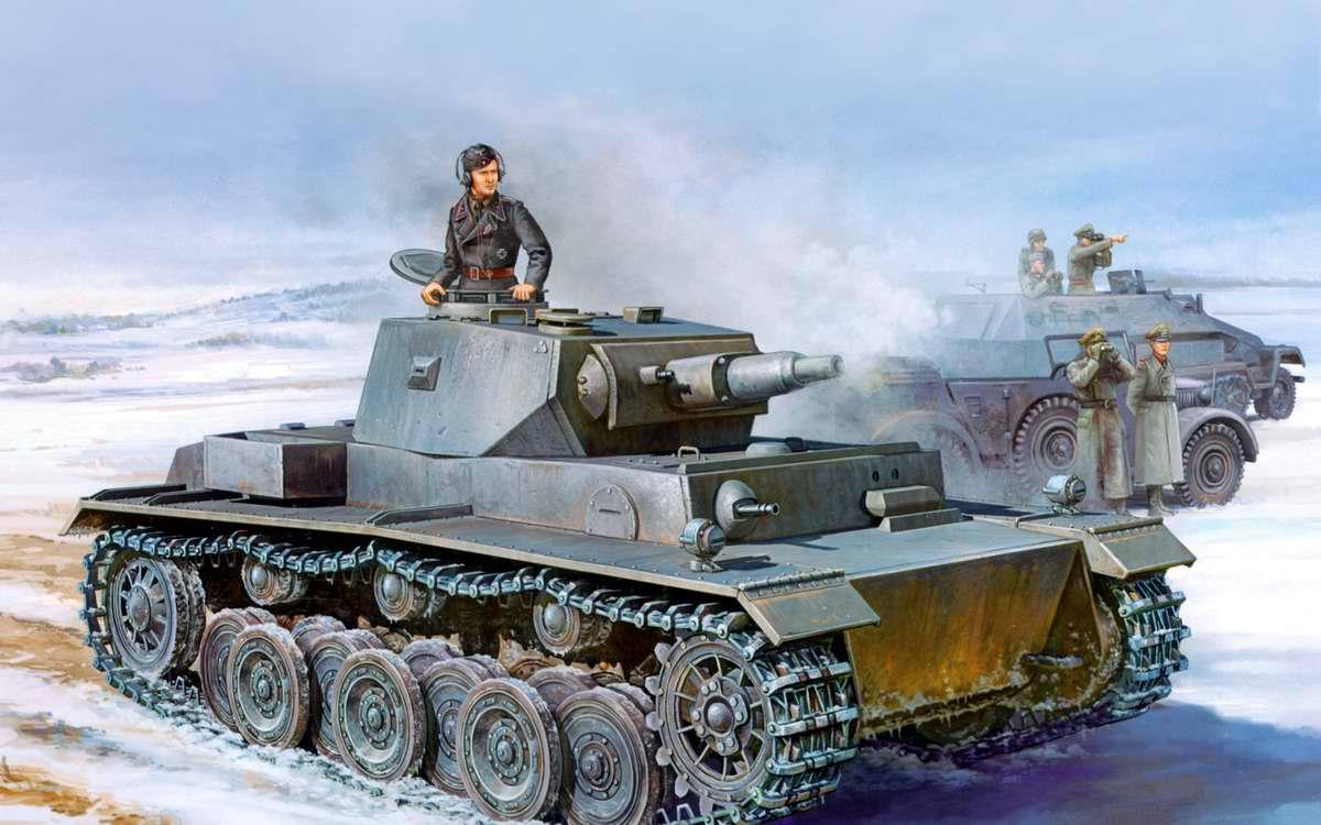 Немецкий средний танк PzKpfw III