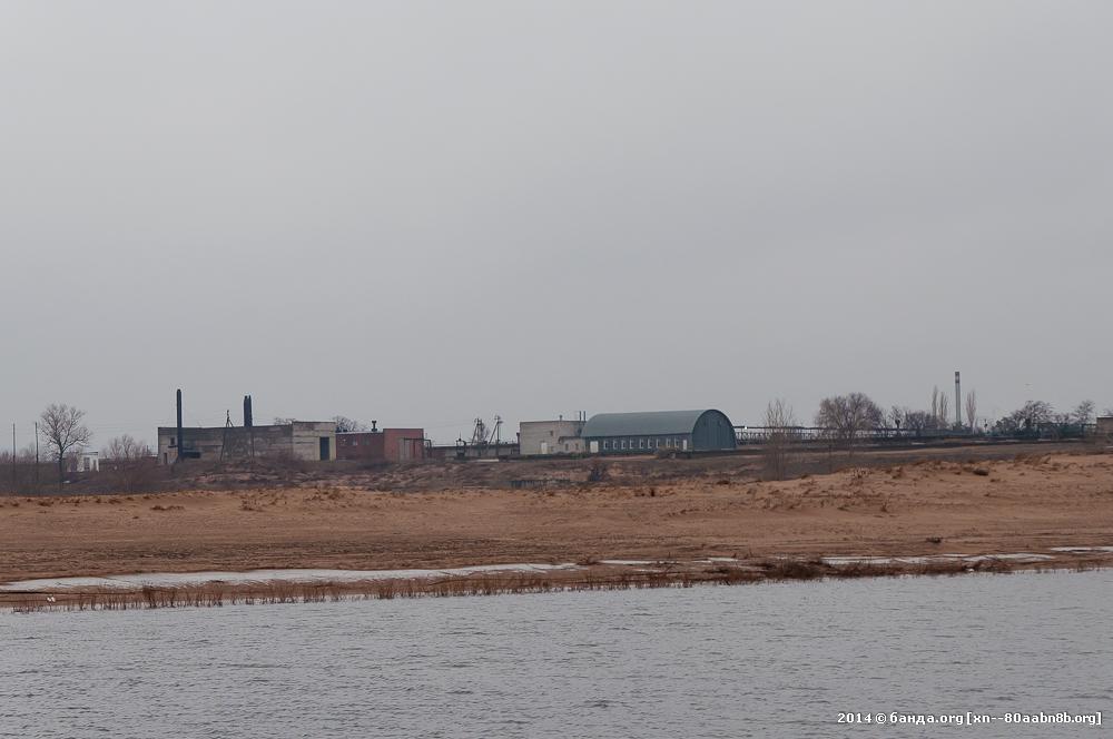 Очистные сооружения острова Голодный