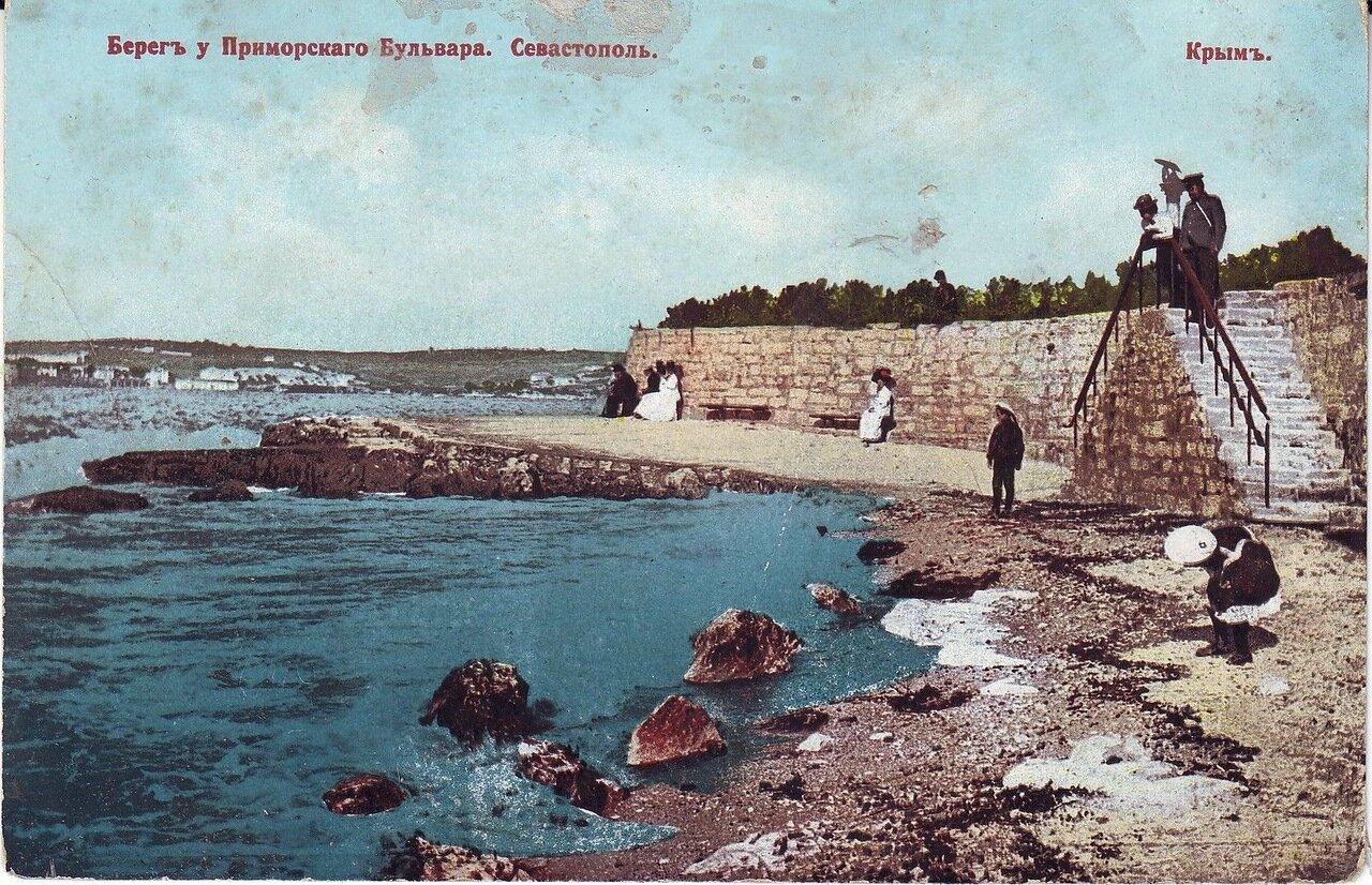 Берег у Приморского бульвара