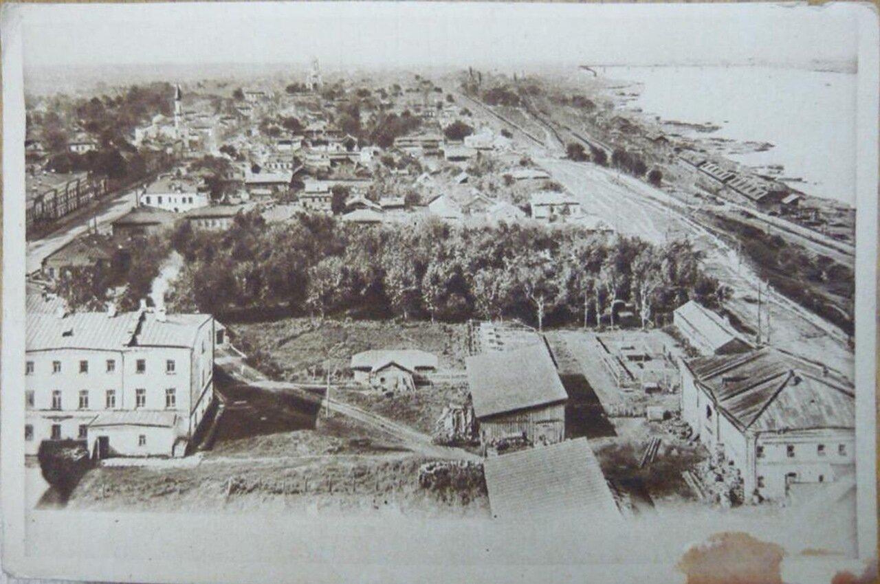 Общий вид на западную часть города