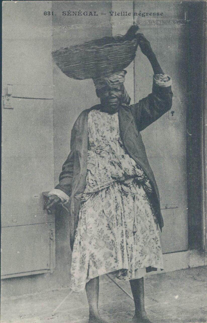 1910-е. Сенегал. Портрет негритянки