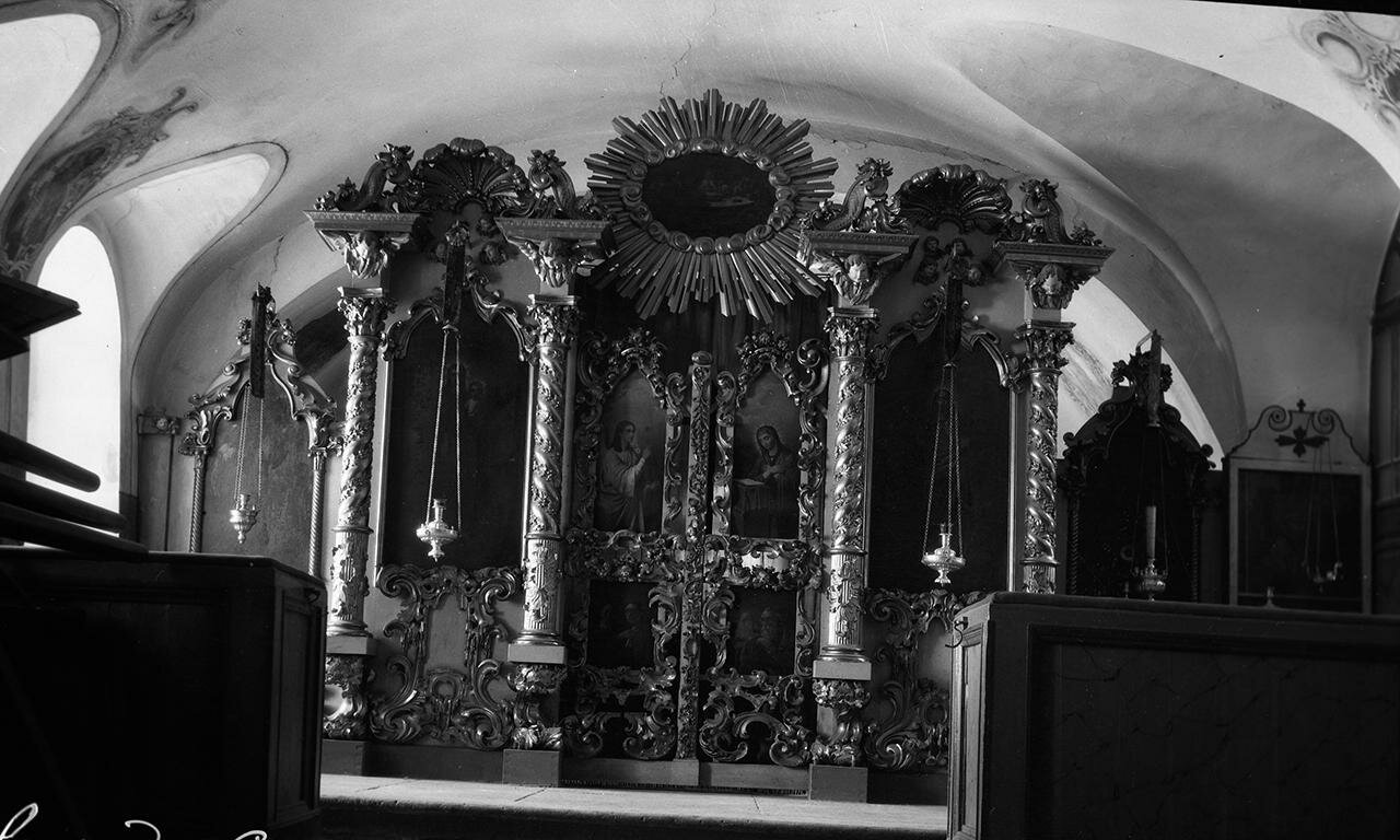 Сковородский монастырь. Храм Михаила Архангела. Северый придел. Иконостас