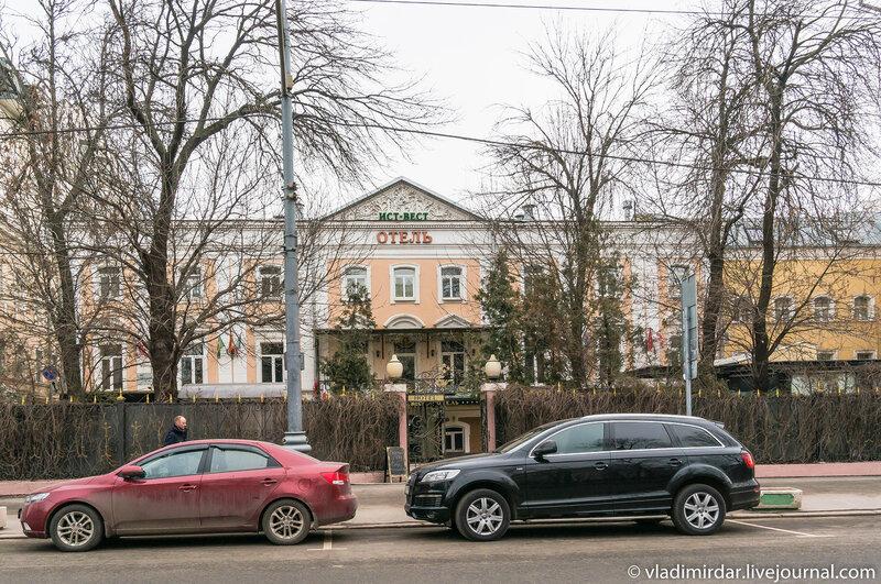 Отель ИСТ-ВЕСТ - Тверской бульвар, 14, стр.4