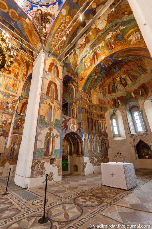 Собор Спаса Преображения Спасо-Евфимиева монастыря в Суздале