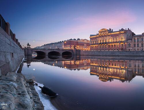 Дворец Белосельских-Белозерских, Аничков мост, Фонтанка