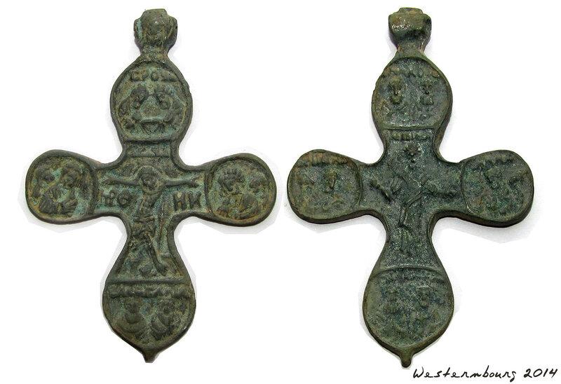 Крест наперстный. XVI В.