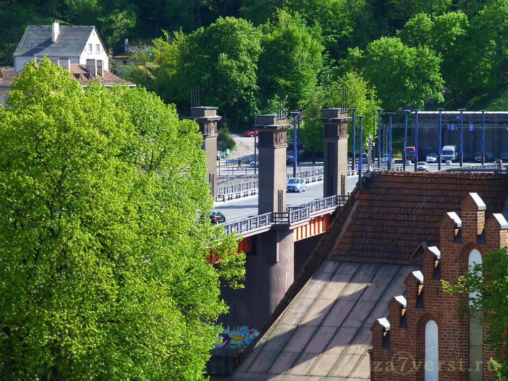 Мост Витовта, Каунас, Литва