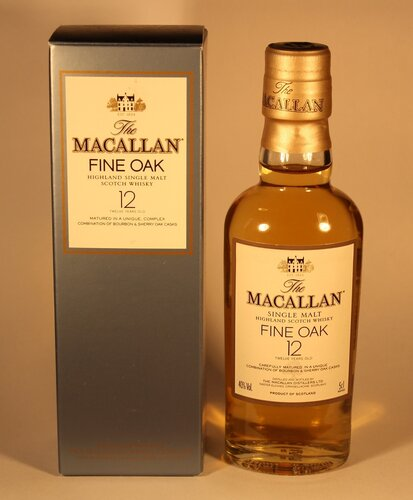 Виски The Macallan Fine Oak 12 Years Old Highland Single Malt Scotch Whisky