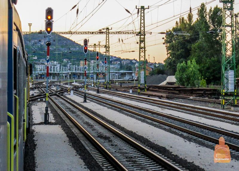 Секешфехервар является важным железнодорожным узлом Венгерских Железных дорог