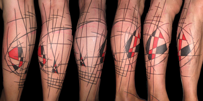 [Tattoo]. Стиль Art Brut / Ар-брют в работах Яна Блэка / Yann Black