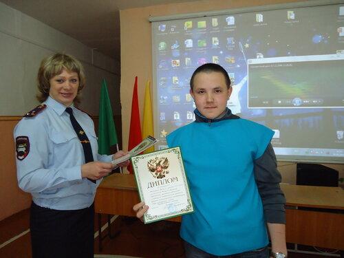 Лучший отряд ЮИД в Куйбышеве