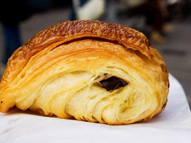 Французской еды пост