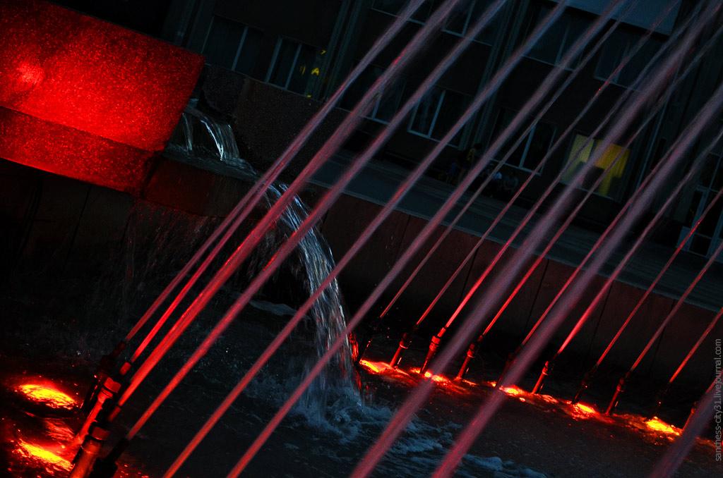 """фонтан """"Покровитель"""", Белгород, фото Sanchess"""