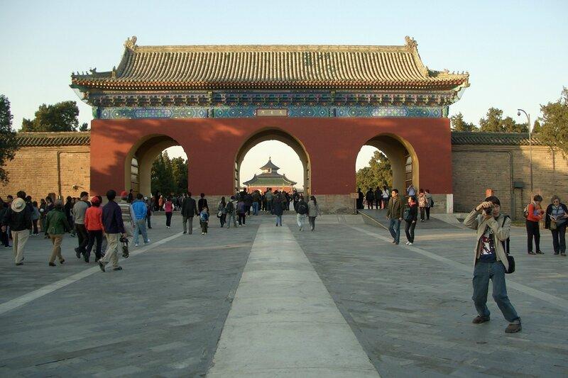 Мост Алых Ступеней, Храм Неба, Пекин
