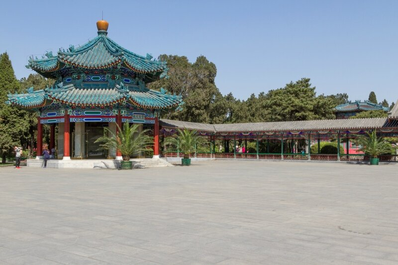 Павильон Ланьтин, парк Чжуншань гунъюань, Пекин