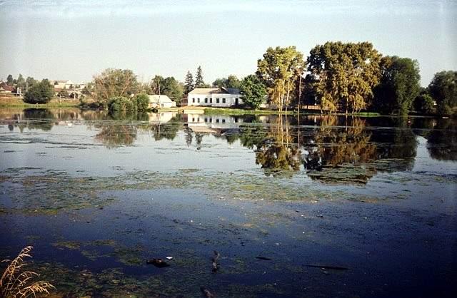 Озера около п. Морки и в пойме Ировки
