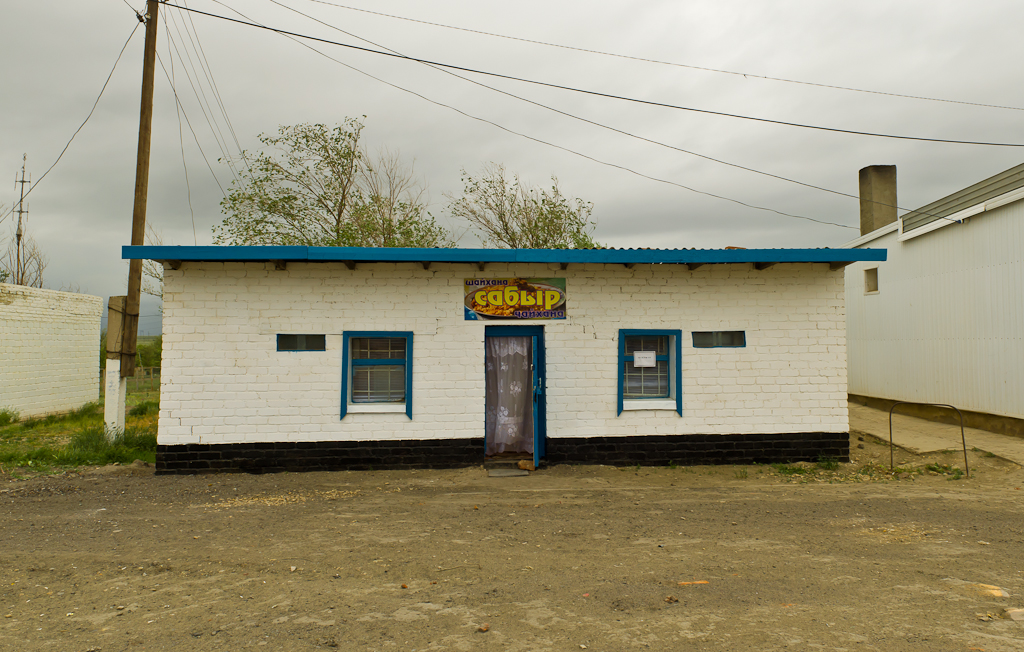 Кафе. Путешествие в Казахстан на автомобиле.