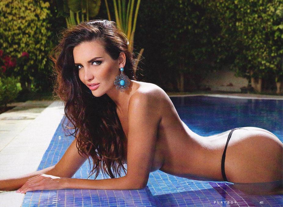 Телеведущая и Миссис Украина 2012 Богдана Назарова - голая в Playboy Украина, июнь 2014