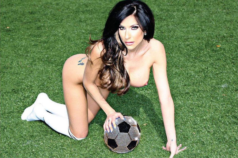 USA / Jaclyn Taylor - Playboy South Africa june 2014 / FIFA Fever
