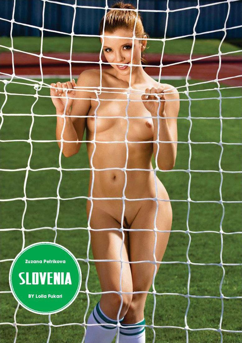Slovenia / Zuzana Petrikova - Playboy South Africa june 2014 / FIFA Fever