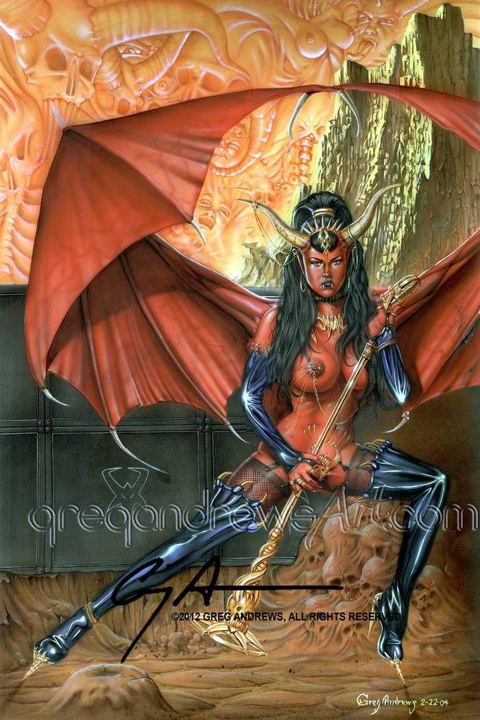 Голос демона - Greg Andrews