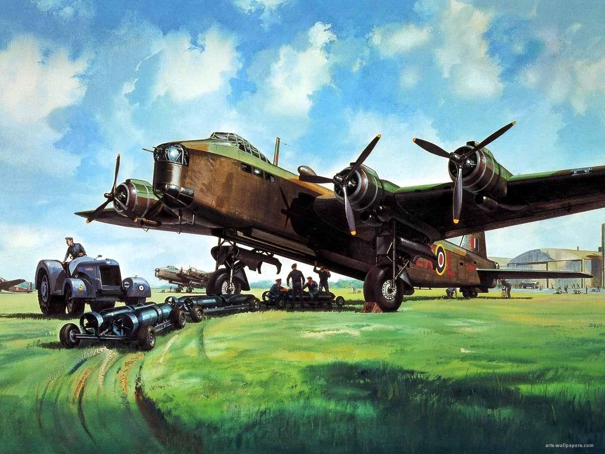 Британский тяжелый бомбардировщик Short Stirling
