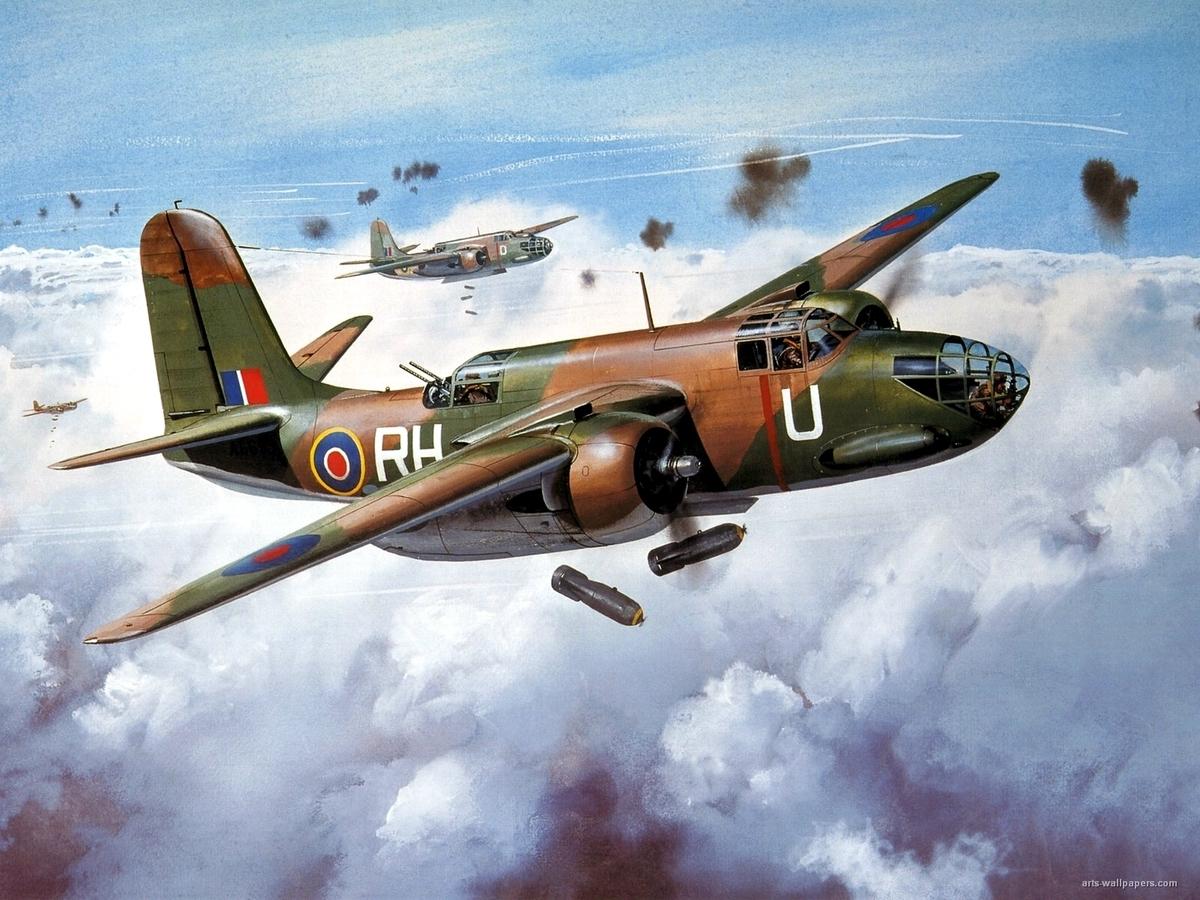 Американский легкий бомбардировщик и штурмовик Douglas A-20 Havoc