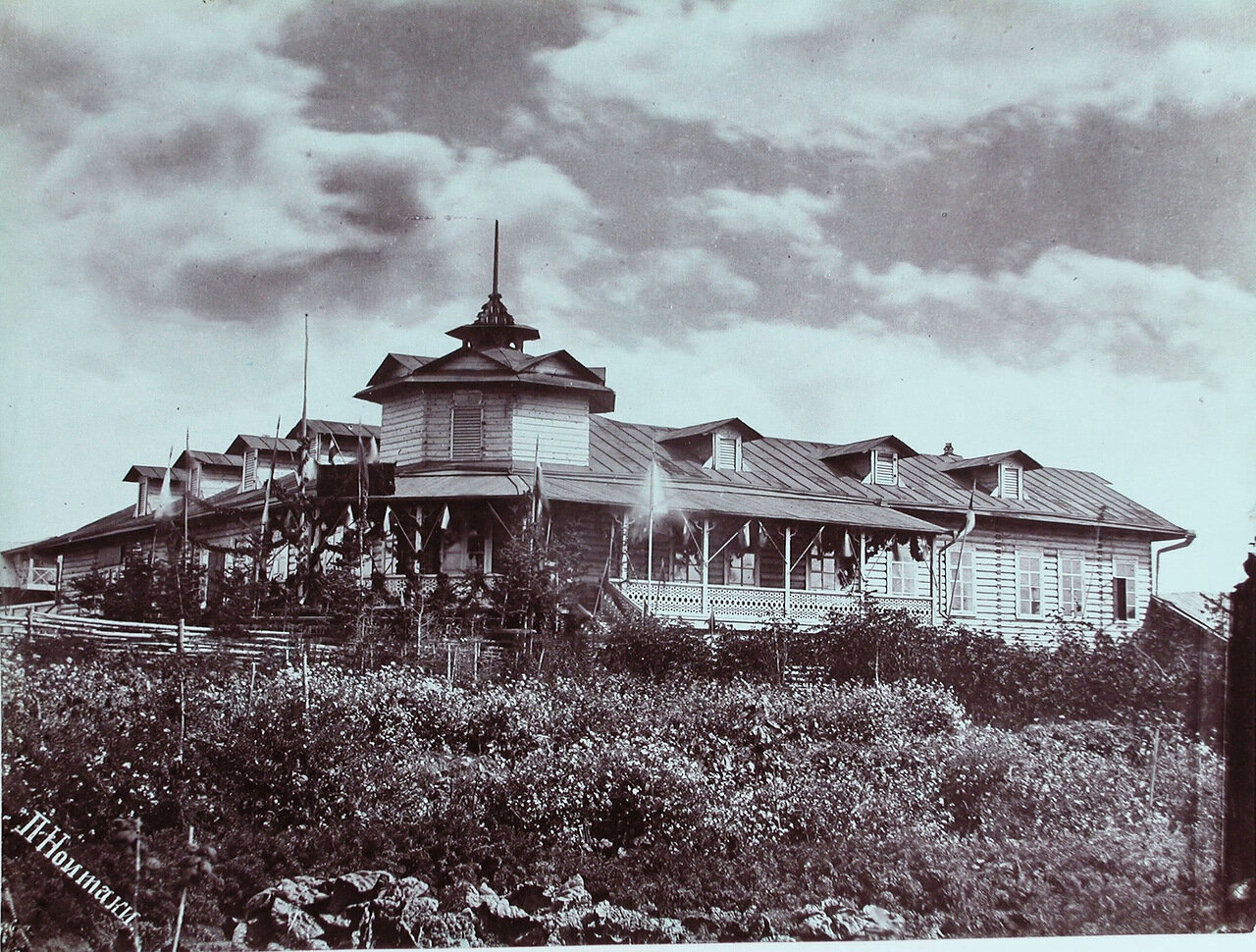07. Вид дома начальника округа