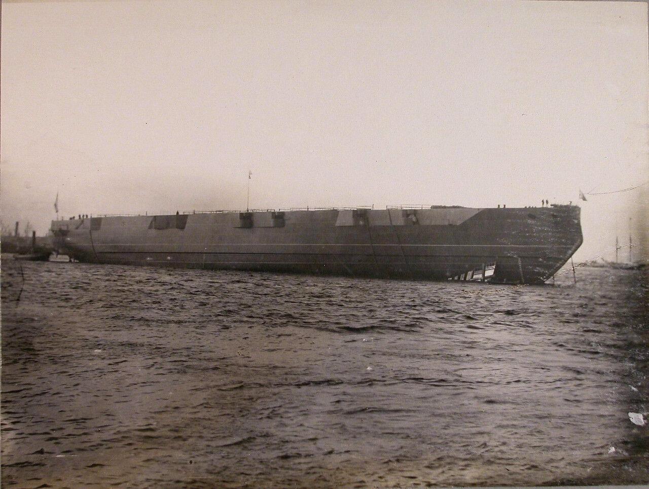 45. Линейный корабль «Полтава», спущенный на воду. 27 июня 1911 г.