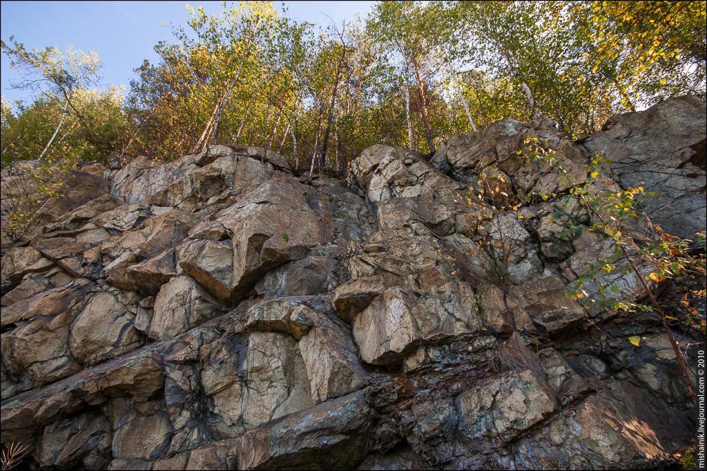 Гологорский хромитовый рудник