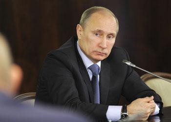 Рейтинг Владимира Путина достиг максимума за пять лет