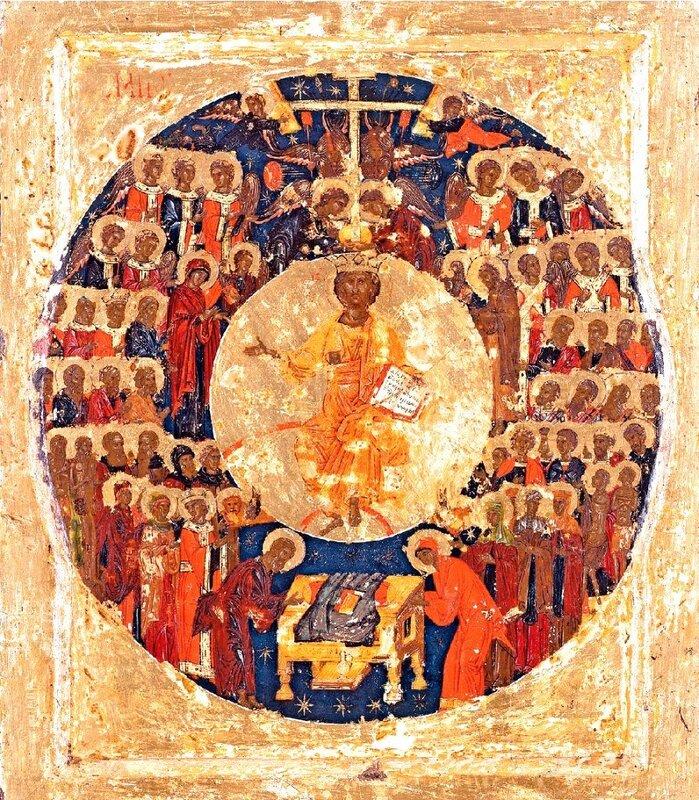 Собор Всех Святых. Греческая икона.
