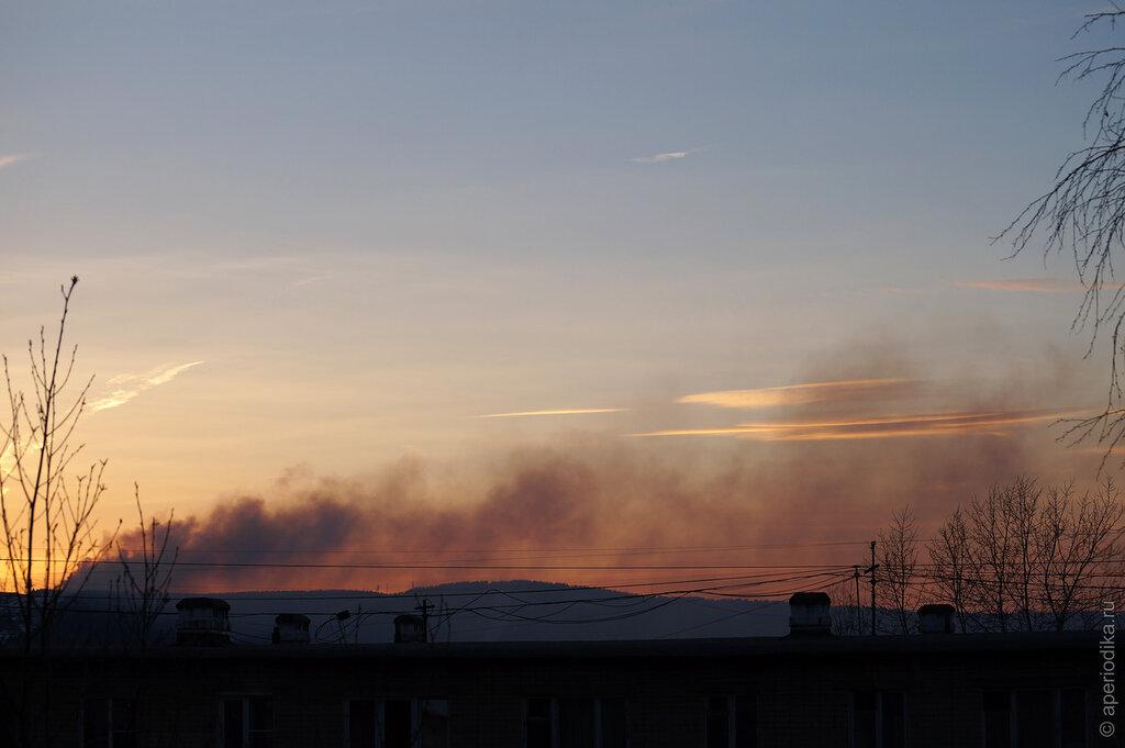 Пожар на горизонте