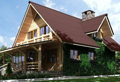 Достройка загородных домов
