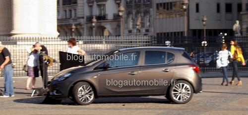 Новая Opel Corsa без камуфляжа