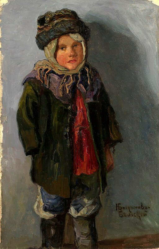 Деревенский мальчик. Холст, масло 56x36 ЧС.jpg