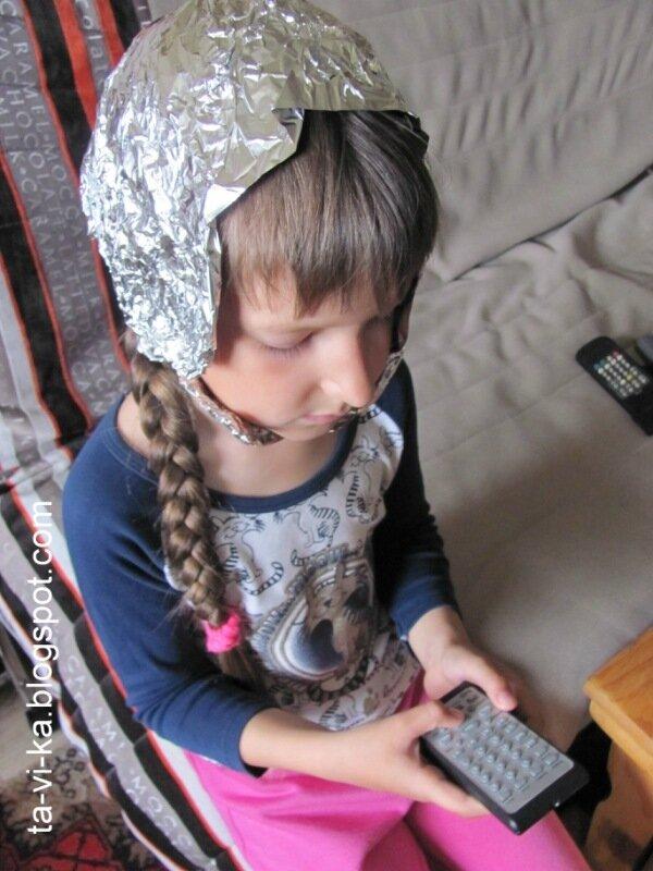 детский праздник - космическое путешествие