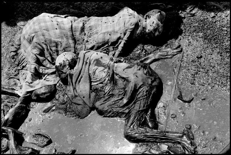 RWANDA. Nyarubuye. 1994. The Nyarubuye massacre site.