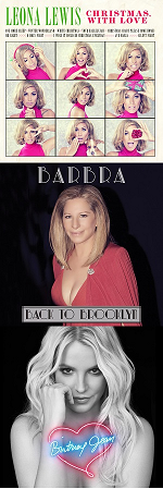 Рецензии на альбомы Leona Lewis / Barbra Streisand / Britney Spears