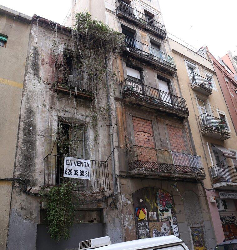 Barcelona. The District Of Santa Caterina