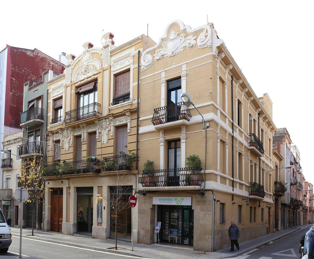 Реус. Маршрут модерна.  Каса Рамон Вендрелл. Casa Ramon Vendrell