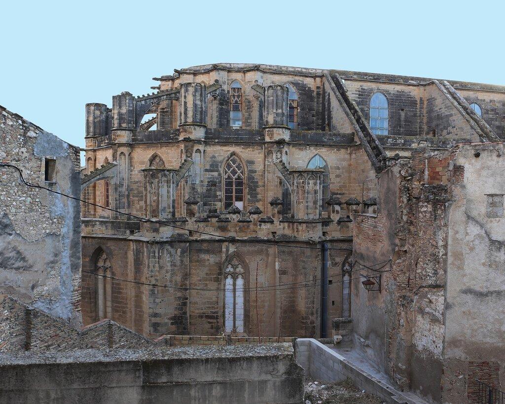 Тортоса. Кафедральный собор. Catedral de Santa María de Tortosa.