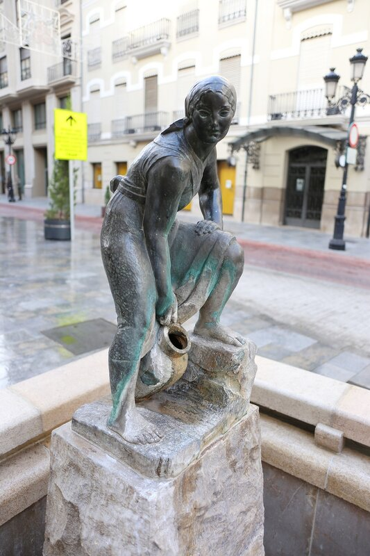 Castellon de la Plana, Plaza Real. Кастельон де ла Плана, Плаза Реал