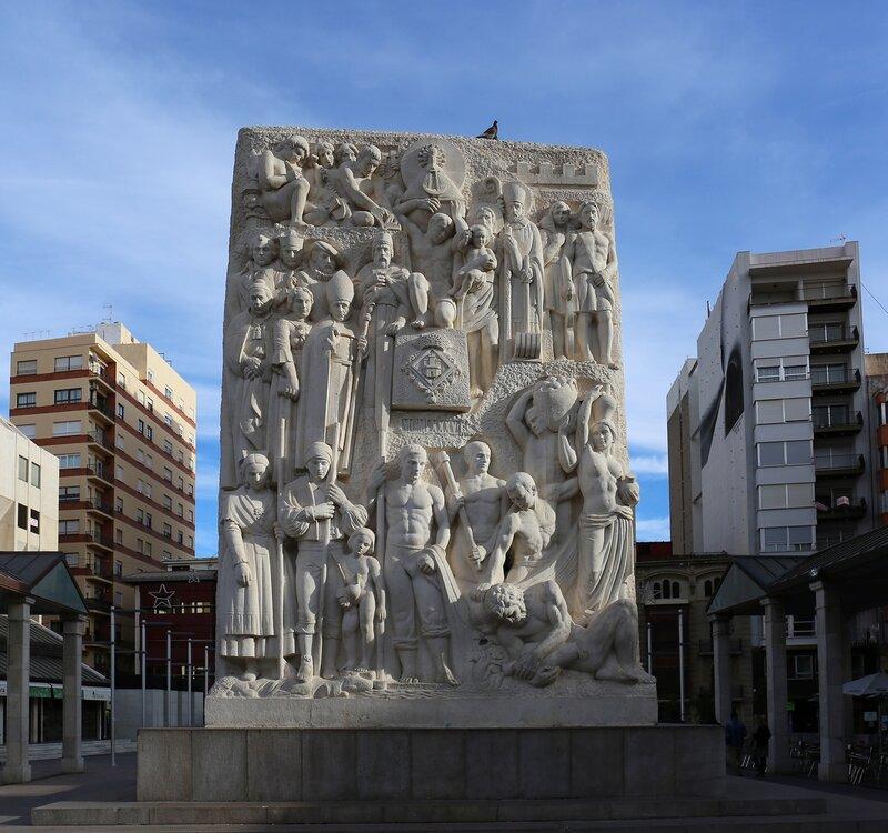 Кастельон-де-ла-Плана. монумент