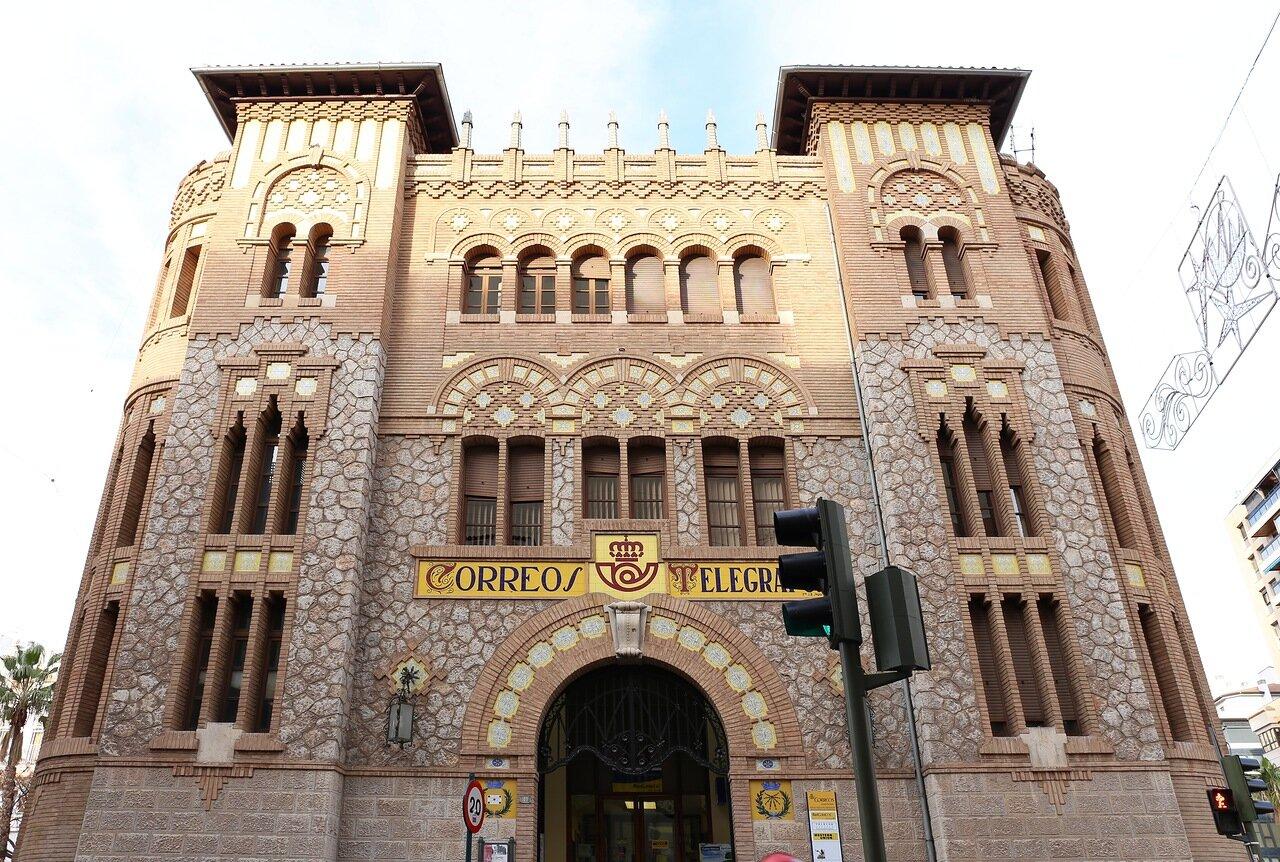 La Oficina de Correos de Castellón de la Plana .  Кастельон де ла Плана, Здание почты