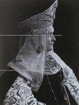 Княгиня Н.А.Барятинская в костюме боярыни XVII века. Портрет.