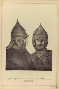 55.  Русское вооружение с ХIV до половины ХVII столетия. Ерихонки
