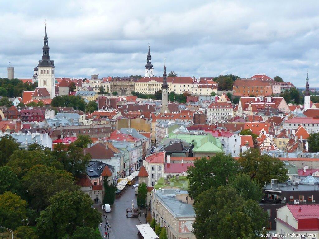 Tallinna-2013 - вид на Старый город.