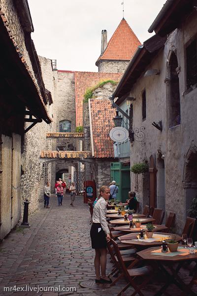 Эстония, Таллин, Старый город Таллина, Переулок Катарины