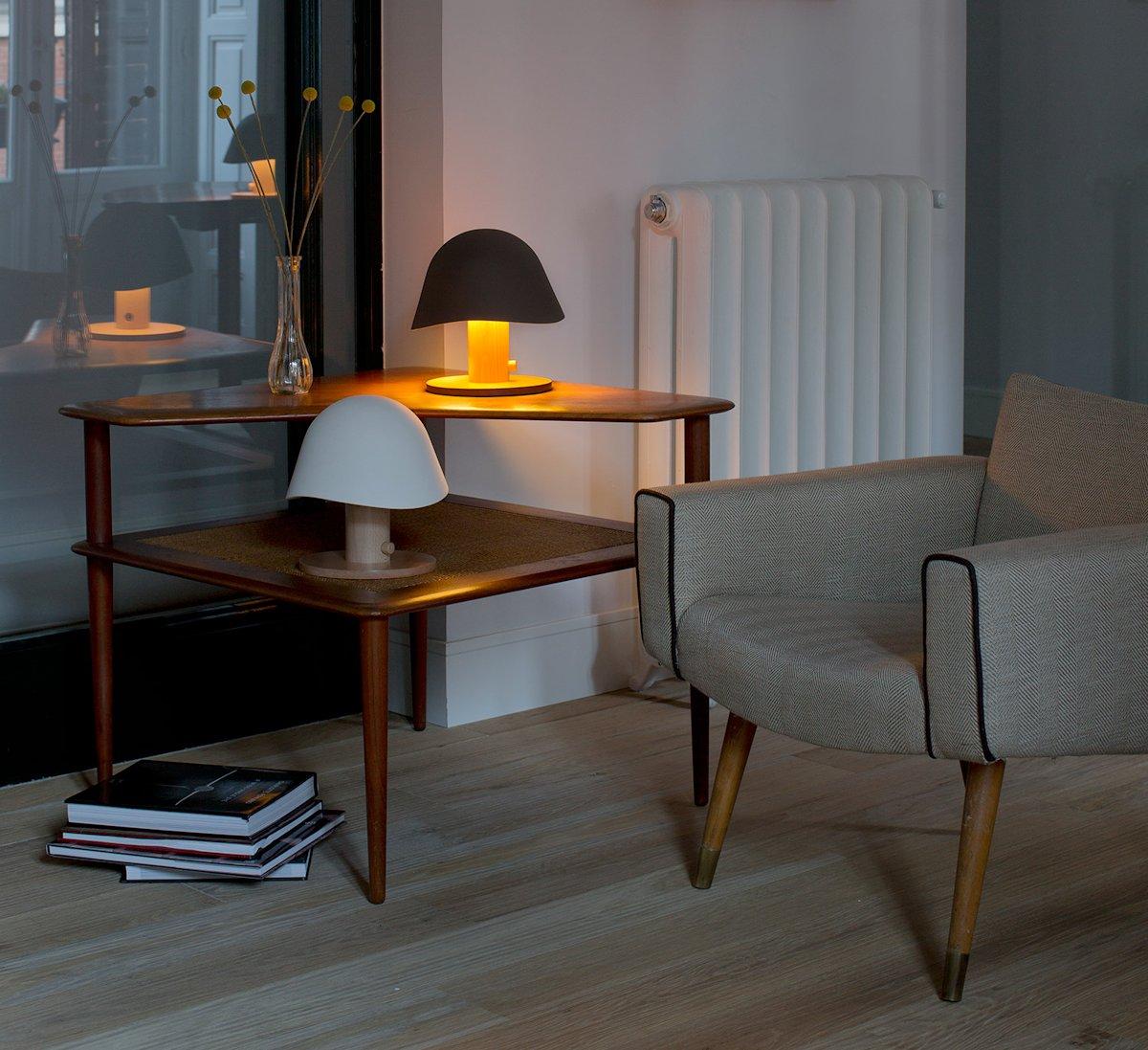 Клаудиа Гарай, Claudia Garay, Garay Studio, настольная лампа Mush Lamp, Mush Lamp, портативная настольная лампа, дизайнерская мебель